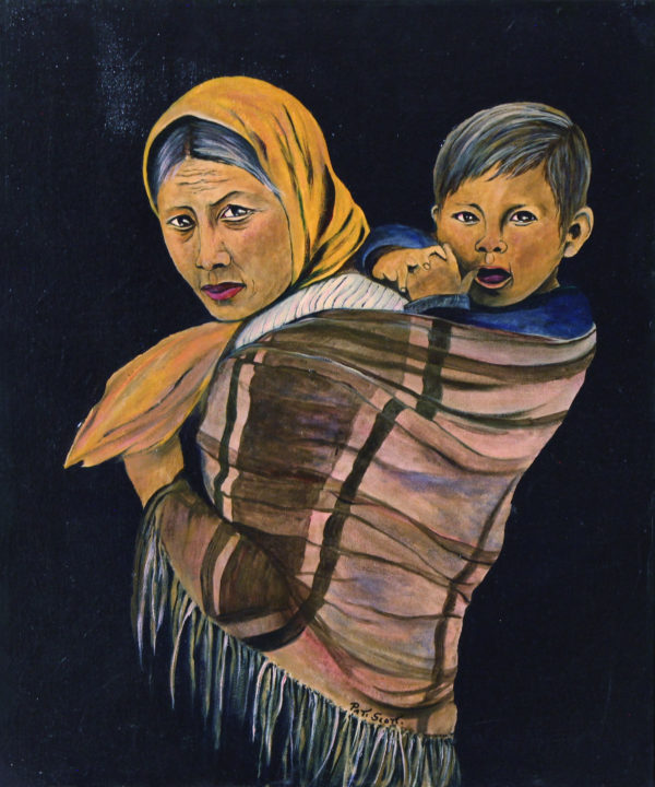 "Mother + Child Oil painting 20"" x 24"""