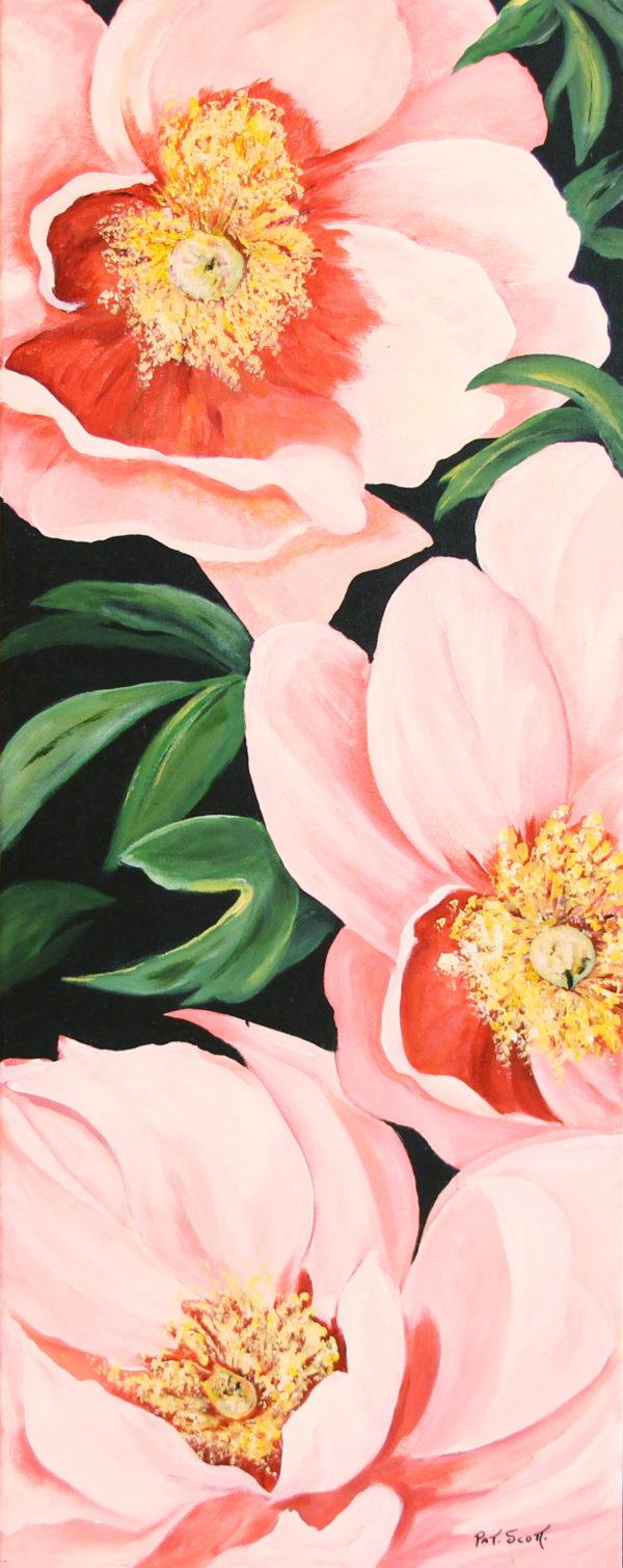 Hillary Rose acrylic painting deep canvas